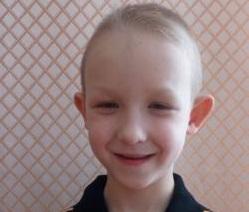 Видеоанкета для ребенка Егор В., Приморский край