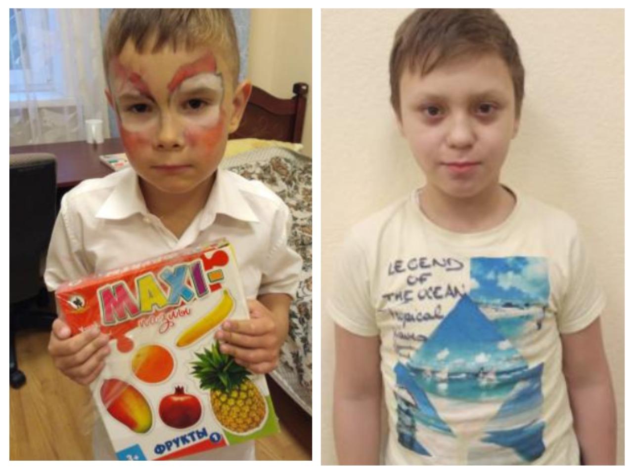 Видеоанкета для детей Георгий П., Михаил П., Москва
